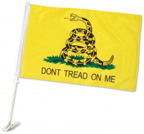 DON'T TREAD ON ME CAR FLAG