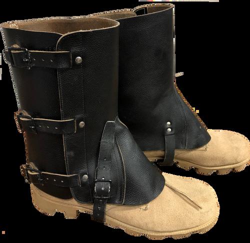 Swiss Leather Gaiter