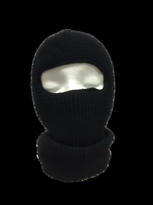 Black Acrylic Face Mask
