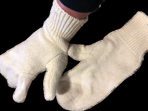 Norwegian Wool Mittens Left Handed