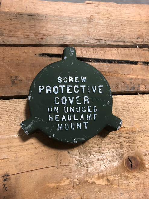 Protective Cover for Unused Headlamp Mount