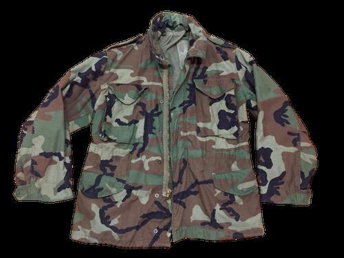 Military Issue M65 Woodland Field Jacket Used Good