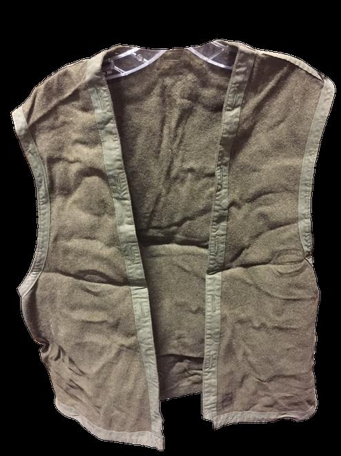 European Surplus Wool Vest