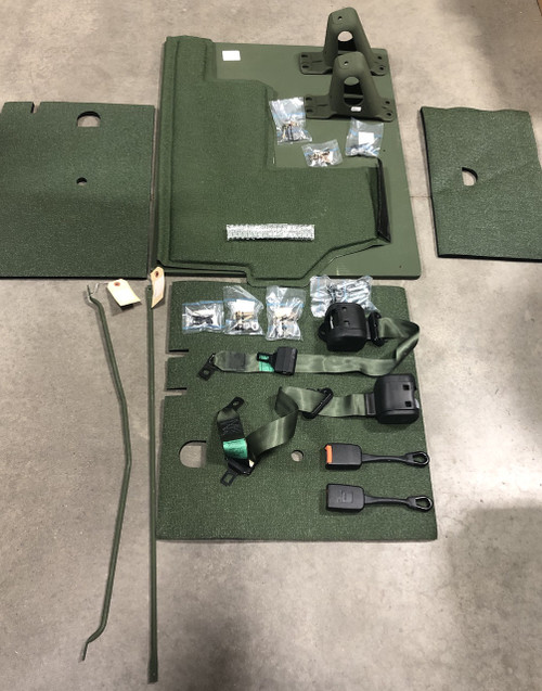 HMMWV Humvee Seatbelt and Insulation Modification Kit 57K3225