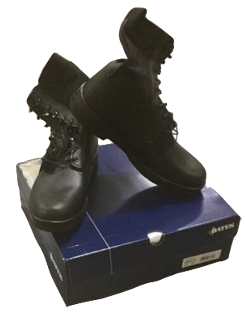 Military Issue Black Jungle Boots Size 13.0M