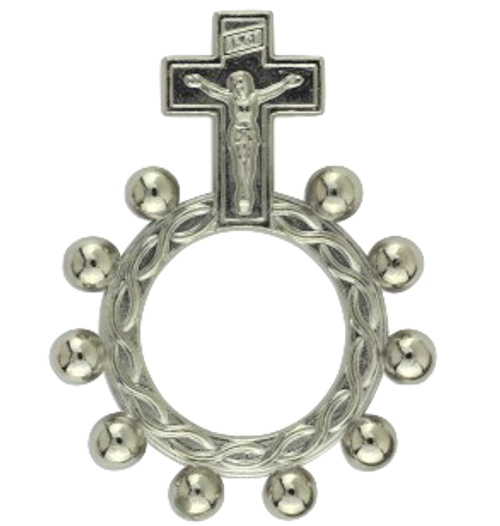 Pocket Rosary Ring 5 pack