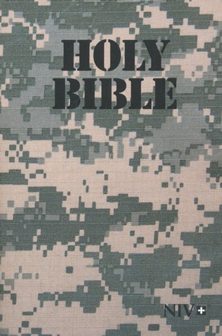 NIV Holy Bible, Military Edition ACU Digital Camo