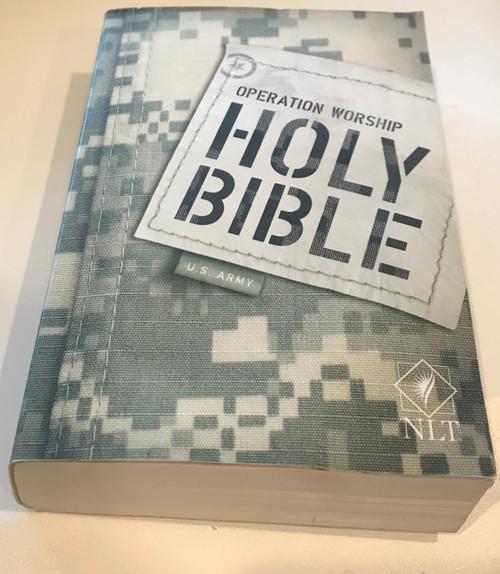 Operation Worship Holy Bible U.S. Army NLT ACU Digital