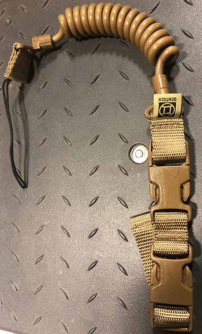 Tactical Retention Lanyard Coyote Brown