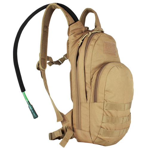 Fox Outdoor Products Compact Modular Hydration Backpack Coyote