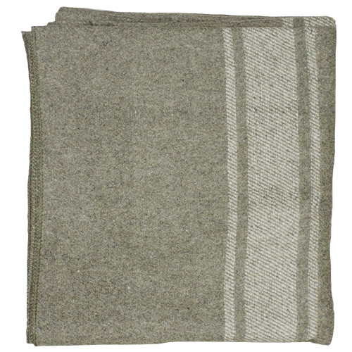 Fox Outdoor Products Italian Army Style Wool Blanket