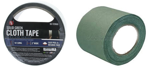 Sona Enterprise Cloth Tape Solid Green