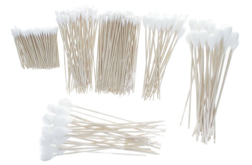 Sona Enterprise Cotton Swabs with Wood Handle 325 pcs assorted