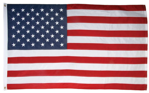 United States Flag Embroidered 210D
