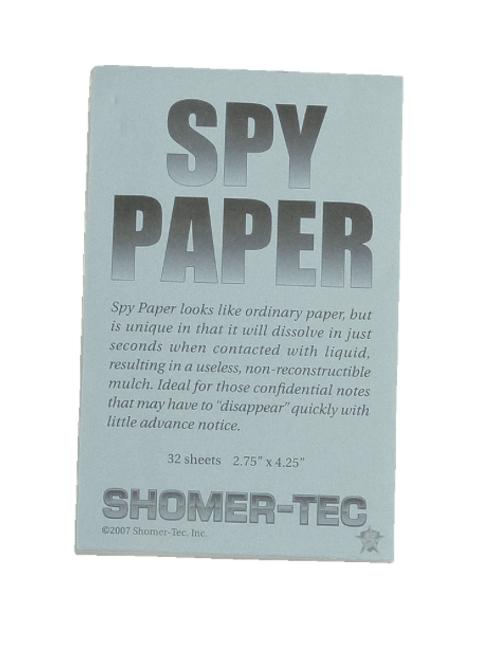 5ive Star Gear Spy Paper