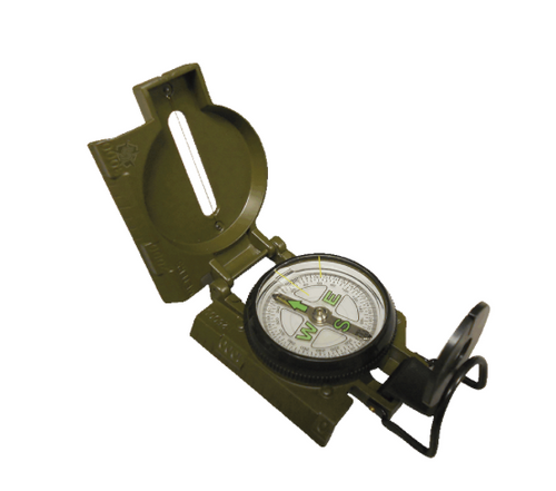 5ive Star Gear Lensatic Metal Marching Compass OD