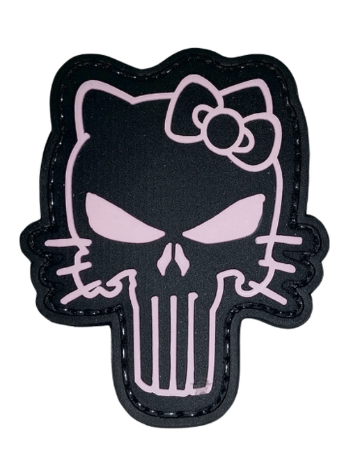 Morale PVC Patch-Tactical Kitty 6721