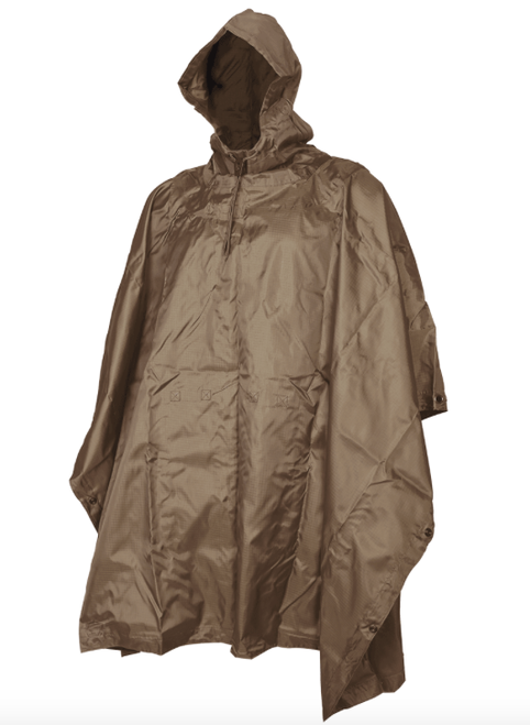 5ive Star Gear GI Spec Coyote Rip Stop Poncho
