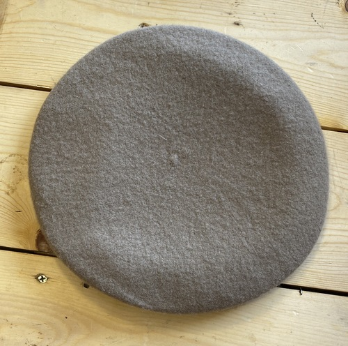 GI Issue Wool Beret Tan Size 7