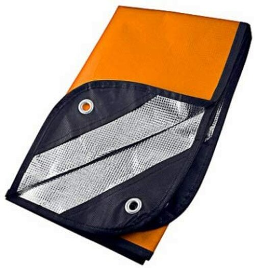 UST Survival Orange Reflective Survival Blanket 2.0