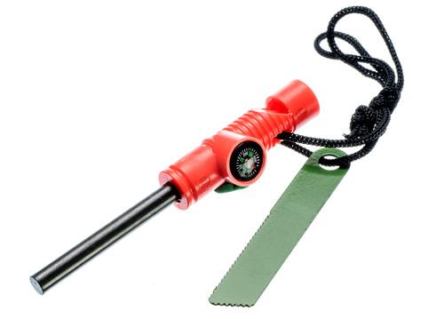 Sona Enterprises 3-in-1 Fire Starter, Compass, & Whistle