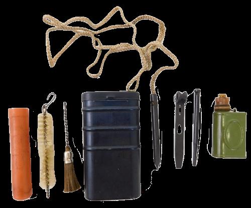 East German Ak47, AK74 RG-57 Tin Can Cleaning Kit