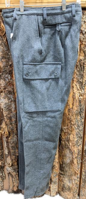 Vintage Danish Wool Pants w/ Heel Strap