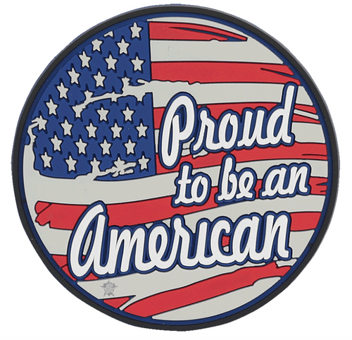 Morale Pvc Patch - PROUD TO BE AN AMERICAN 6697