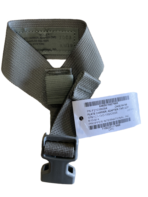 MOLLE II UCP TAP Adapter Plate Carrier Foliage Green