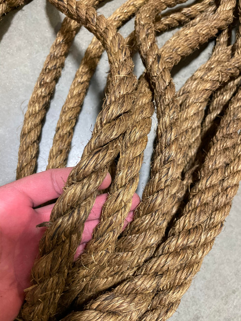 """Military Issue Manilla Rope 9/16"""" x 100 ft"""