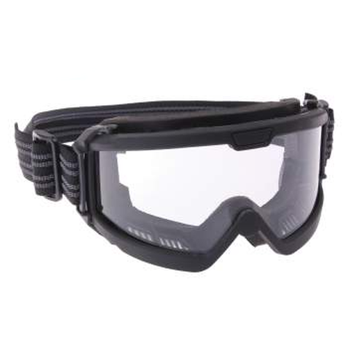 Rothco ANSI Ballistic OTG Goggles Black with Clear Lens