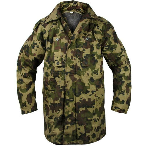 Romanian Spotted Camo Parka with Liner
