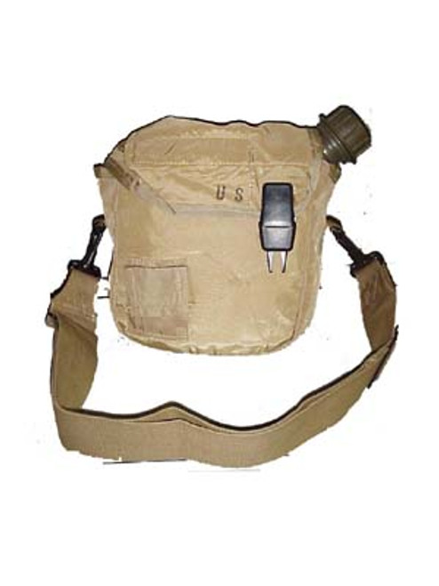 2 QT Canteen with Cover Tan Color Cover