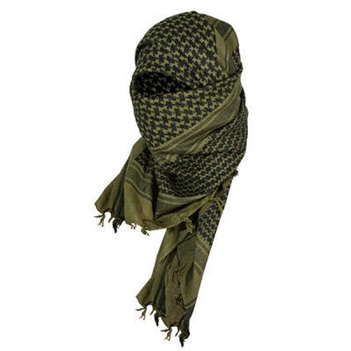 VOODOO TACTICAL WOVEN COALITION DESERT SCARF BLACK/WHITE