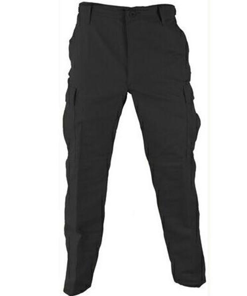 Propper® BDU Trouser Button Fly - Battle Rip® 65/35 Ripstop Black