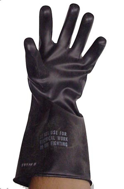 Black Rubber Trox Gloves
