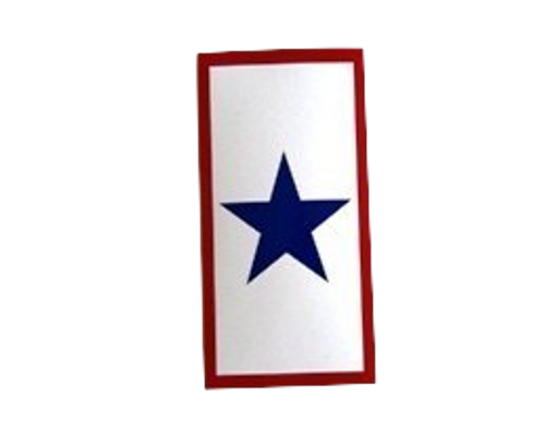SERVICE STAR BUMPER STICKERS