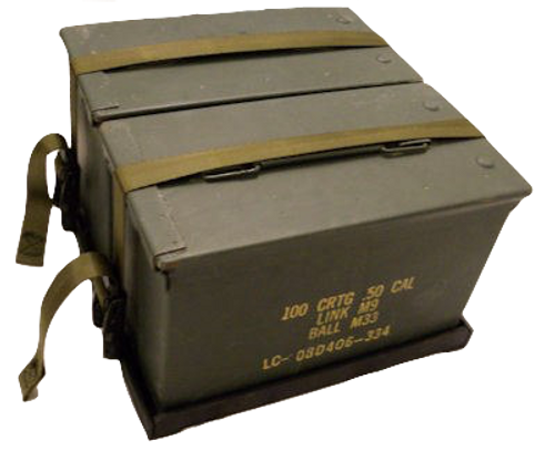 50 Cal Ammo Can Holder