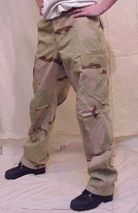 Teesar BDU Pantalones Ripstop prelavados 3-Colour Desert