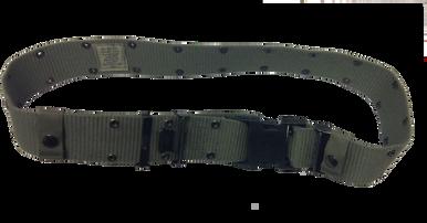 Lässig Unisex D-Ring Tuch Gürtel Segeltuch Gürtel Stricken Segeltuch Gürtel I4F1