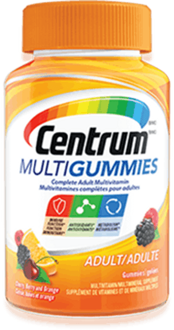 CENTRUM MULTIGUMMIES Adult Multivitamin, 150 Gummies/Bottle