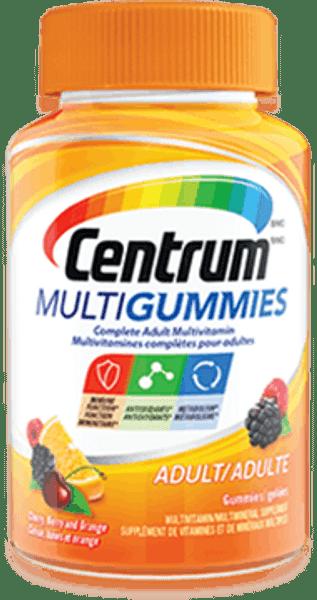 CENTRUM MULTIGUMMIES Adult Multivitamin, 150 Gummies/Bottle