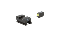 TRIJICON Heavy Duty Night Sight Set w/ Yellow Outline for Walther P99/PPQ/PPQ M2 (600737)