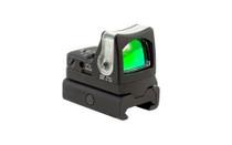 Trijicon RMR 7 MOA Amber Dot Dual Illuminated Sight w/ RM34W Weaver Rail Mount (700024)