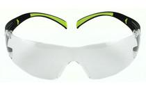 3M-PELTOR Secure Fit 400 Clear Safety Eyewear (SF400-PC-8)
