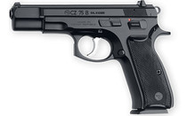 """CZ 75B 9mm 4.6"""" Cold Hammer Forged Barrel 2x 16Rd Mags Steel Frame Plastic Grips Double/Single Semi-Automatic Pistol (91102)"""
