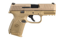"""FN 509 Compact 9mm 3.7"""" Barrel 1x 15rd Mag 1x 12Rd Mag FDE Polymer Frame Striker Fired Semi-Automatic Pistol (66-100818)"""