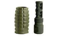 TIMBER CREEK OUTDOORS 223REM OD Green Muzzle Brake Blast Can Combo (223 MBC OD)
