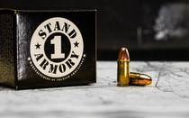STAND 1 ARMORY 9mm 115 Grain 500rd Box of Centerfire Pistol Ammunition (0915109R500)