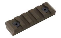 TIMBER CREEK OUTDOORS M-LOK FDE 5-Slot Picatinny Rail (M 5S PR FDE)